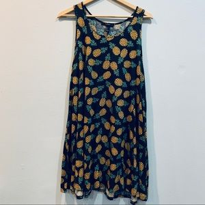 Forever 21 Pineapple dress size large